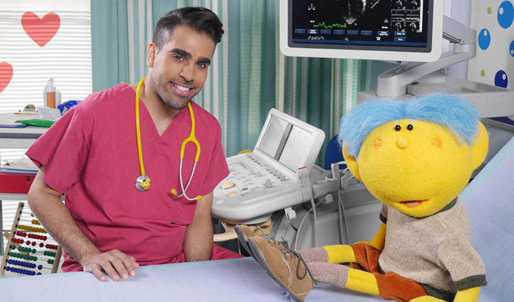 Dr Ranj at Evelina London